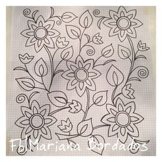 Ideas for embroidery designs mexican fabrics Bordado Jacobean, Jacobean Embroidery, Hand Embroidery Patterns, Applique Patterns, Mexican Embroidery, Floral Embroidery, Beaded Embroidery, Cross Stitch Embroidery, Mexican Pattern
