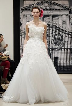 416e41ce5d Reem Acra Wedding Dresses Spring 2012 — Yes