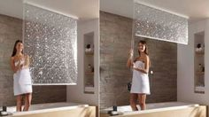 This Shower Curtain Descends From The Ceiling Like Magic