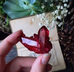 Ruby Aura Crystal