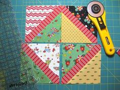 bitty bits & pieces: Charm Pack Quilt Tutorial.. one day...