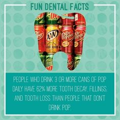 Drink water instead. . . . #dental #dentist #dentalcare #oralhealth #dentalhygie