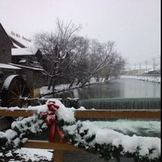 Christmas at the Old Mill in Pigeon Forge, TN (2010).