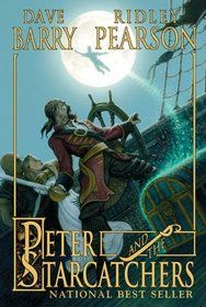 Peter and the Starcatchers. How did Peter Pan become Peter Pan? Have a read and find out.This is a good read for the young and young at heart.