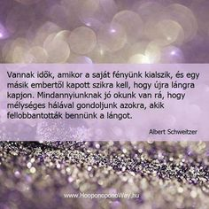 Albert Schweitzer bölcsessége a lelkesítésről. A kép forrása: Ho'oponoponoway… Albert Schweitzer, Motivational Quotes, Inspirational Quotes, Make More Money, In My Feelings, Picture Quotes, Favorite Quotes, Quotations, Life Quotes