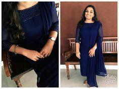 Best 12 Churidhar – Page 472455817157208883 – SkillOfKing. Salwar Neck Designs, Kurta Designs, Saree Blouse Designs, Party Wear Indian Dresses, Dress Indian Style, Churidhar Designs, Salwar Pattern, Simple Kurti Designs, Embroidery Suits Design