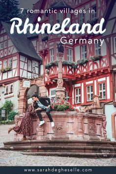 Here you ll find the 7 most romantic towns in and around Rhineland in Germany. These can be the perfect travel inspiration for an unforgettable weekend getaway. Ill even add a few not to miss activities in the area. Backpacking Europe, Europe Travel Guide, Visit Germany, Germany Travel, Romantic Getaways, Romantic Travel, Romantic Escapes, Europe Destinations, Bon Plan Voyage