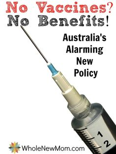 Australia Mandates Vaccines for Welfare Benefits - How this alarming new policy affects you.