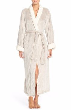 NATORI PLUSH VELOUR ROBE CASHMERE  105 - FREE WORLD SHIPPING - BEST PRICES  GUARANTEED AT SOPHIA f93f83790