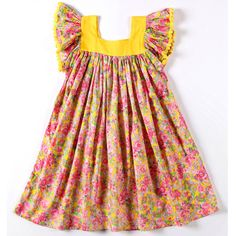 coco & ginger saba dress mexican flower pink