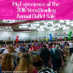 Argyle Love  My Experience at the 2016 Vera Bradley Annual Outlet Sale 8cfa2ccc4a691