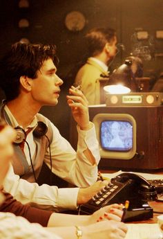 Ben Wishaw as Freddie Lyon in BBC The Hour. The thinking woman's bit of crumpet.