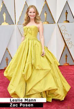 TOP Looks do Oscar 2017 Leslie Mann