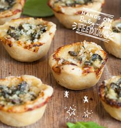 Spinach and Cream Baby Pies