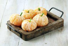 Gesunde Halloween Orangen