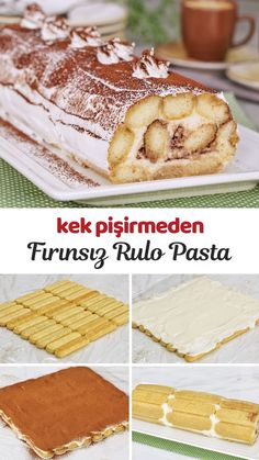 Turkish Recipes, Ethnic Recipes, Healthy Recepies, Home Bakery, Yummy Eats, Cupcake Cookies, Party Cakes, Food Art, Deserts