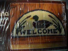 Duck Mallard Welcome Latch Hook kit  Half Round Sultana Sealed 79285 #Sultana