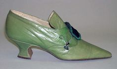 Manufacturer: Hellstern and Sons (French) Date: ca. 1910 Culture: French Medium: leather Slippers