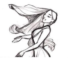 "Disney Princess Pocahontas ""Colors of the Wind"" concept art. Feeling nostalgic."
