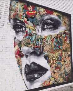 Comic Book Street Art