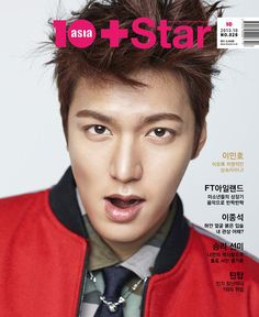Lee Min Ho - 10+ Star Magazine October Issue '13
