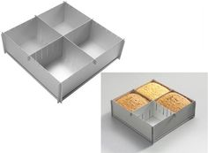 Fully adjustable to make just about any size of square or rectangular cake up to 30cm.