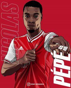 Soccer Art, Football Art, Arsenal Football, Arsenal Fc, Premier League, Champions, Fifa, Book Art, Illustration