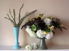 Floral urns that earn my admiration