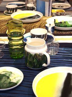 Marimekko - Sääpäiväkirja - Go 4 it vol. Marimekko, Fresh Rolls, Sweet Home, Finland, Tableware, Spin, Ethnic Recipes, Food, Google