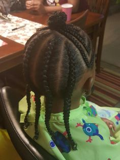 Perfect for Grace! Cute Little Girl Hairstyles, Little Girl Braids, Baby Girl Hairstyles, Natural Hairstyles For Kids, Black Girl Braids, Toddler Braids, Braids For Kids, Girls Braids, Toddler Hair