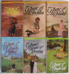 Anne of Green Gables ~ My favorite literary character. Introduced to me in 7th grade and have loved Anne ever since! Another I can't wait to share with my daughter.