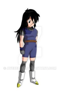 Here is my old DBZ OC Sue. Berylune and I were out at the time and who wrote funny stories. There she is. Sue is a Saiyan and an old friend of Vegeta. The two come together in the course of the sto...