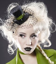 Latex Top Hat by OohLaLatex on Etsy, £61.00