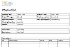 Sample Meeting Summary Template Minutes Of Meeting Sample (with Action Item  List)   Dotxes