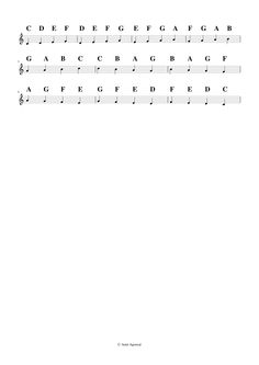 Hindustani Music Exercises Pattern 16