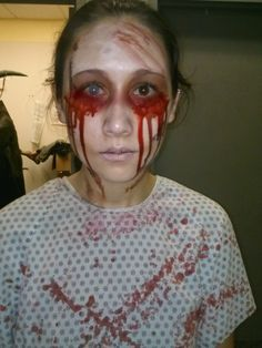 Insane Asylum Patient Haunted House Halloween Makeup                                                                                                                                                                                 More