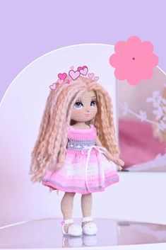 Easy-to-follow amigurumi tutorial, consisting of 34 PDF pages. Crochet Doll Pattern, Crochet Toys Patterns, Amigurumi Patterns, Stuffed Toys Patterns, Crochet Dolls, Crocheted Toys, Knitting Patterns, Handmade Dolls Patterns, Doll Patterns