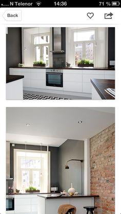 Kjøkken Bed & Bath, My Dream Home, Rustic, Kitchen Inspiration, Architecture, Interior, Furniture, Decoration, Projects