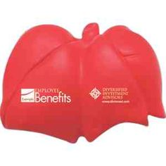 Squeeze out the stress with this lung shaped stress reliever.