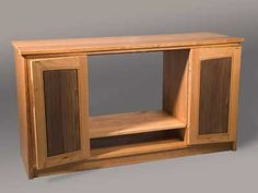 Free Entertainment Center Plans Including Wall Unit Plans And TV Cabinet  Plans.