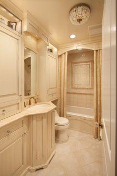 Bathrooms on pinterest traditional bathroom pedestal sink and decor