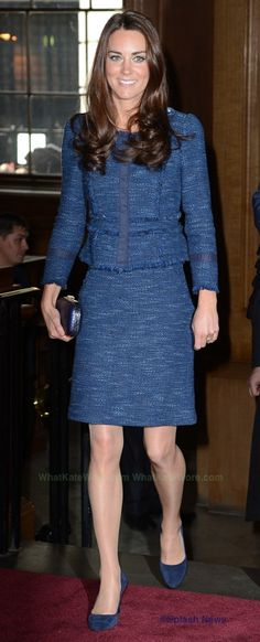 The Duke and Duchess of Cambridge attend a reception at Goldsmiths' Hall Whatkatewore.com