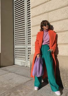 Look Fashion, High Fashion, Fashion Outfits, Womens Fashion, Fashion Trends, Travel Outfits, Street Fashion Week, 70s Inspired Fashion, Quirky Fashion