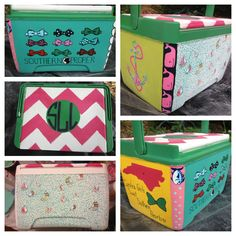 Painting coolers