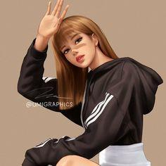 """-Jeon Jungkook Book 2 for Scandal Love… Blackpink Poster, Lisa Blackpink Wallpaper, Dibujos Cute, Black Pink Kpop, Digital Art Girl, Blackpink Photos, Blackpink Fashion, Pink Art, Jennie Blackpink"