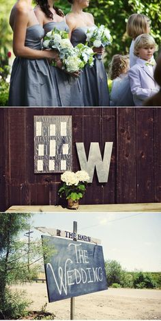 I love everything about this wedding. love.