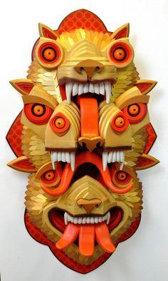 AJ Fosik - Wood Sculpture