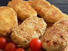 magiczna kuchnia Kasi: Kotlety ziemniaczane z serkiem wiejskim