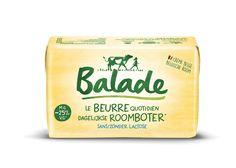 De Dagelijkse Roomboter van Balade, da's al het plezier van echte boter, met 25% minder vet in vergelijking met volle boter. De boter doet wonderen in de keuken en smaakt geweldig in patisserie. Om zonder schuldgevoel voluit van te genieten! En voor het eerst ook verkrijgbaar in pakjes.  Extraatje: De boter, afkomstig van goede Belgische room, is even smaakvol als echte boter, maar dan met minder vetten en zonder lactose. Dairy, Coffee, Food, Ride Or Die, Butter, Meal, Essen, Hoods, Meals
