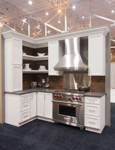 Hampton Door Style Booth Display Fabulous Food Show 2017 Wood Kitchen Cabinets Cabinet